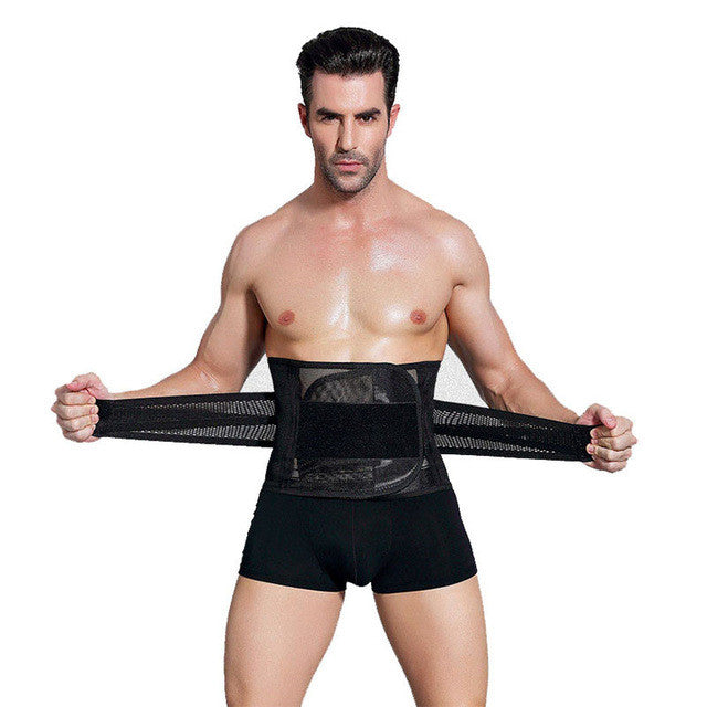 abfa934c91 Wechery Slimming Belt Belly Men Body Shaper Man Corset Abdomen Tummy  Slimming Shaperwear Waist Trainer Cincher