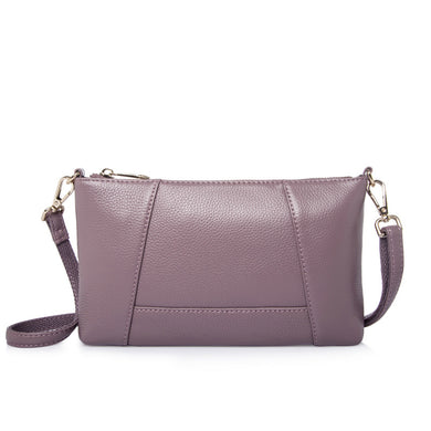 29b6bdeca8 100% genuine leather small shoulder bags clutch bag for women cowhide female  crossbody messenger bags