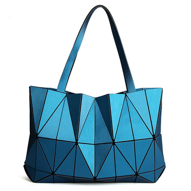 2018 Brand New Women Matte Triangle Laser BaoBao Bag Female Tote Diamond  Geometry Quilted Handbag Mosaic 4065911c8facc