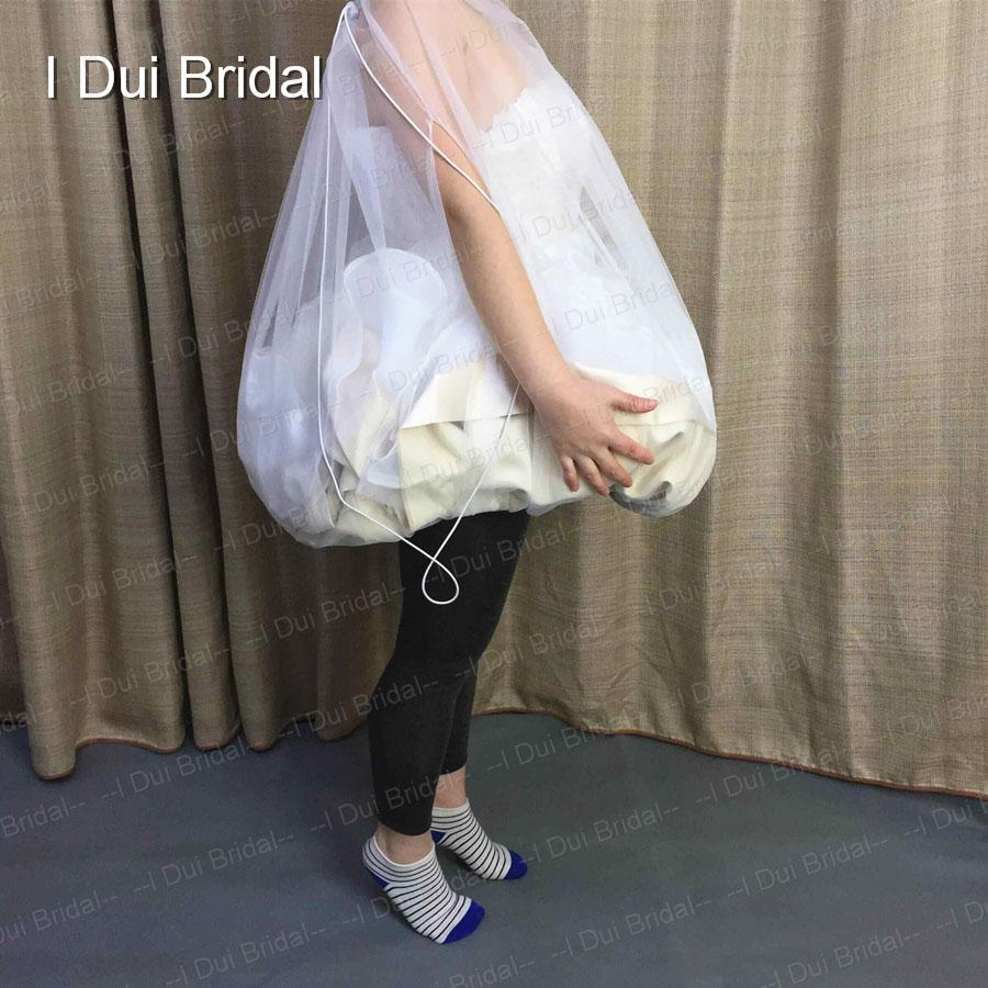 7f8e85f2751b ... One Size Fit All Bridal Petticoat Buddy Real Photo Wedding Dress Gather  Skirt Real Photo Underskirt