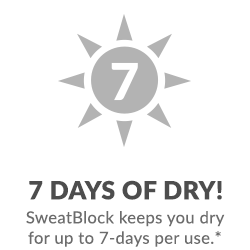 Stay Dry for 7 Days.