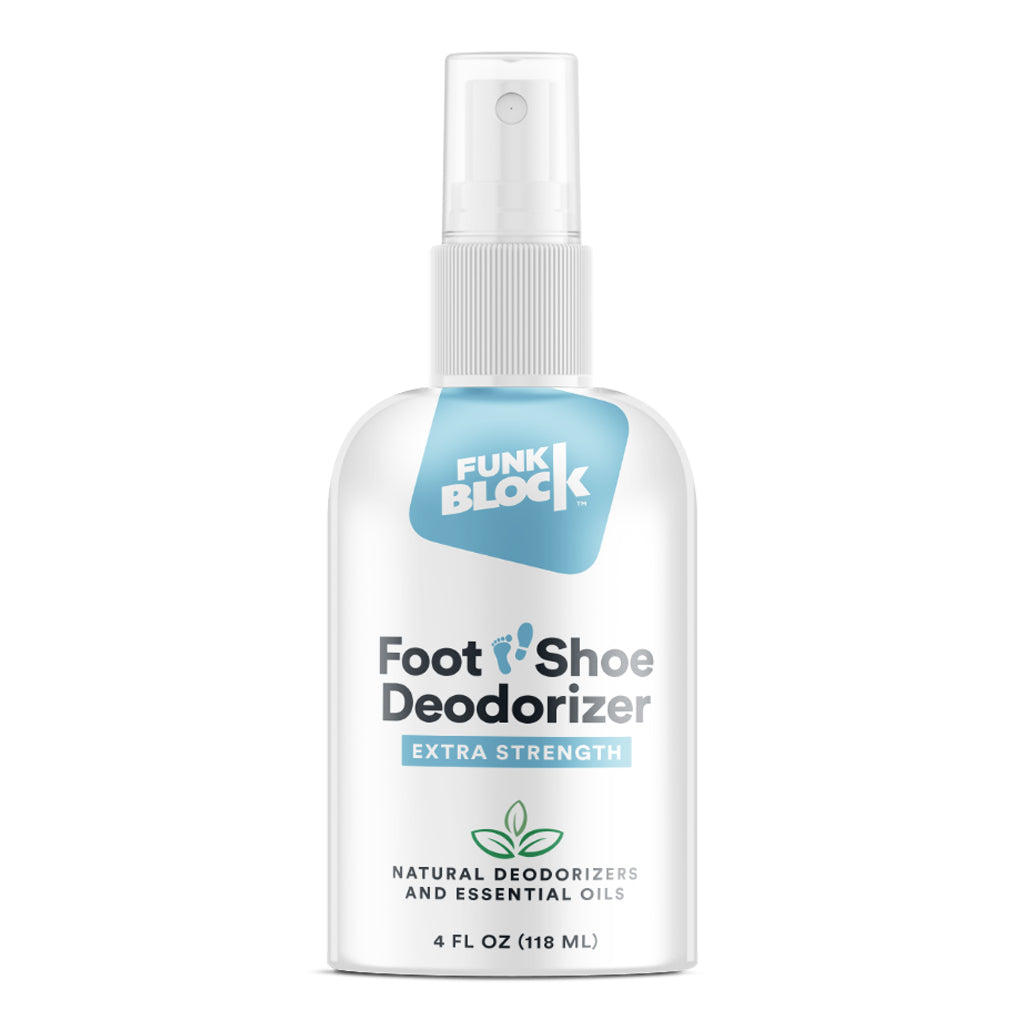 FunkBlock Shoe Deodorizer & Foot Odor Spray
