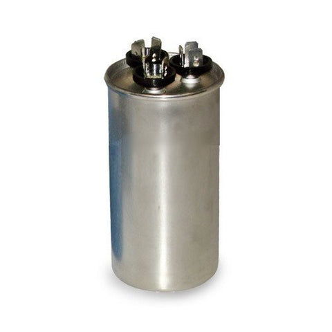 PRCFD8075 - Aftermarket Replacement for Packard Round Dual Run Capacitor 80 + 7.5 uf MFD 440 Volt