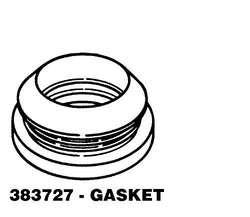 1 X 383727 Main Outer Tub Seal REPAIR PART FOR WHIRLPOOL, AMANA, MAYTAG, KENMORE AND MORE