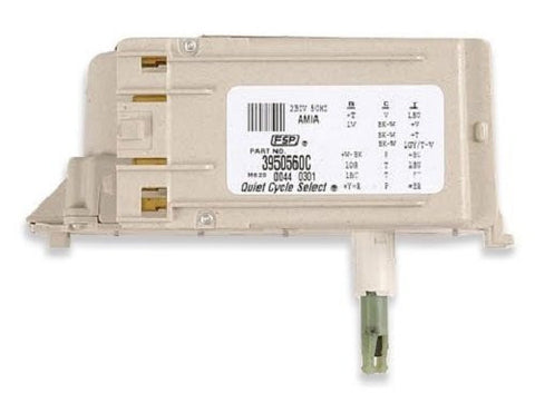 Whirlpool Part Number 3950560: Timer, Control (50 Hz.) (Motor Not A Service Part)