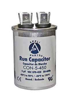 RUN CAPACITOR 5 MFD uF440V ROUND CAN - UL Certified