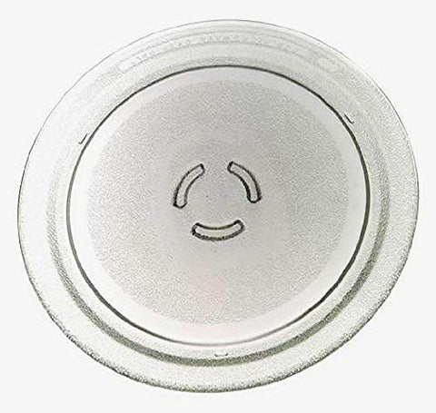 "Supco 4393799 12"" Microwave Oven Glass Turntable fits Whirlpool, Kenmore, KitchenAid, Amana, Estate, Maytag, Roper, Jenn-Air, and Inglis"