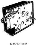 Whirlpool Part Number 3347793: Switch, Water Temperature (Alt.)