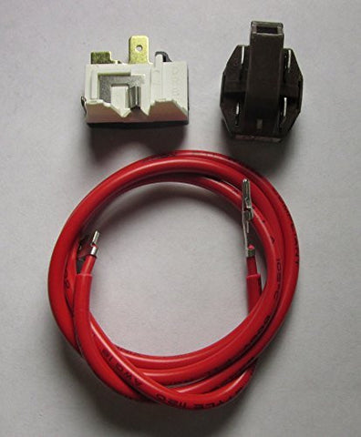 4387535 Overload Relay Kit For Whirlpool Maytag KitchenAid Amana Admiral Replaces These Other Numbers 14210139 2154760 2159596 4357210 4387767 586234 AH371273 EA371273 PS371273 AP3108472