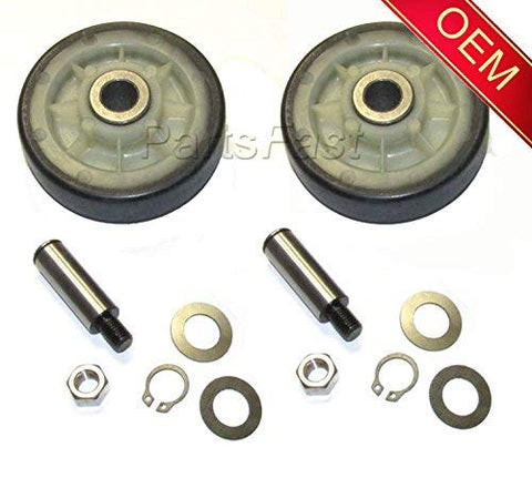 303373K AP4008534 PS1570070 DE693 Y303373 W10116741 OEM Whirlpool Dryer Rollers and Shaft Kits