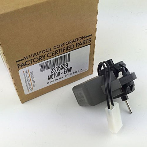 Whirlpool Part Number 2315539: Fan Motor