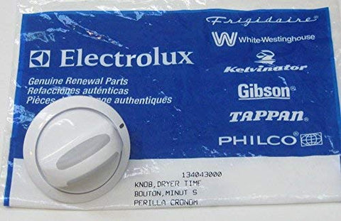 Major Appliances 134043000 Frigidaire Electrolux Dryer Timer Control Knob Dial AP2108068 PS419267