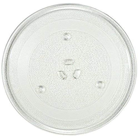 "11.25"" GE and Samsung -Compatible Microwave Glass Plate / Microwave Glass Turntable Plate Replacement - 11 1/4"" Plate, Equivalent to G.E. WB49X10097"