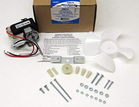 Supco SM675 Utility Motor Kit Single Speed Replaces 90970, 7502, EM675, ERM675