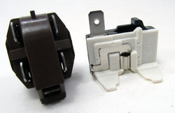 1108143 - NEW REFRIGERATOR COMPRESSER 1/4 to 1/3 HP RELAY AND OVERLOAD KIT FOR WHIRLPOOL KENMORE MAYTAG AND MANY OTHER BRANDS