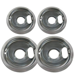 AP4453181 FREE EXPEDITED Estate DRIP PAN KIT   Includes two 6 inch and two 8 inch drip pans AP4453181