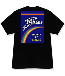 Rainbow Garage tee S/S black - Gone Forever