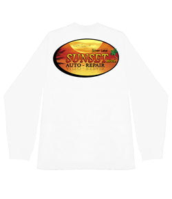 Sunset Garage Long Sleeve tee - Gone Forever