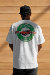 CLASSIC GARAGE GRAPHIC T-SHIRT - JON & VINNY'S LIMITED EDITION