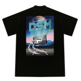 DRIVE IN THEATER GRAPHIC T-SHIRT BLACK- DSMLA LIMITED EDITION