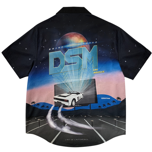 DRIVE IN THEATER GRAPHIC SHIRT SHORT SLEEVES- DSMLA LIMITED EDITION