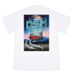 DRIVE IN THEATER GRAPHIC T-SHIRT WHITE- DSMLA LIMITED EDITION