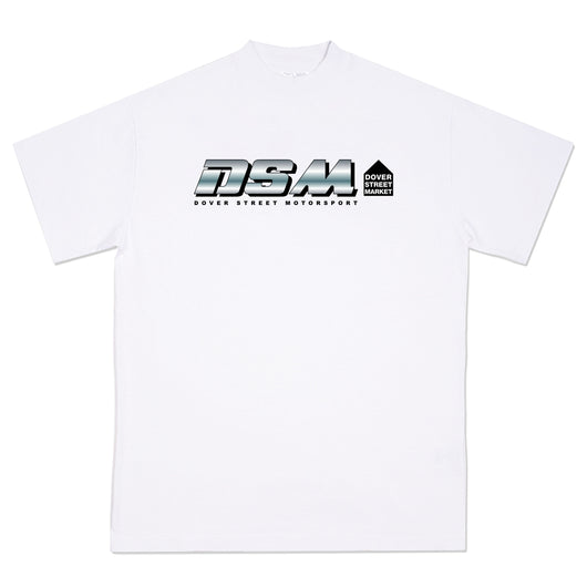 DSM MOTORSPORT GRAPHIC T-SHIRT WHITE - DSMNY LIMITED EDITION