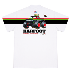 KARFOOT GRAPHIC TEE WHITE - TAMIYA EDITION