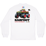 KARFOOT LS GRAPHIC TEE WHITE - TAMIYA EDITION