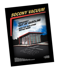 OUT OF GASOLINE - POSTER LIMITED EDITION