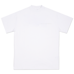 Double tone white L'art de l'automobile logo T-shirt