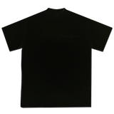 Double tone black L'art de l'automobile logo T-shirt