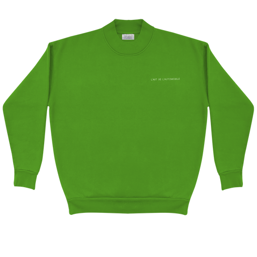 GREEN GARAGE CREWNECK