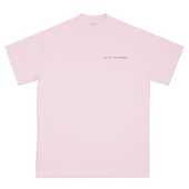 LIGHT PINK L'ART DE L'AUTOMOBILE LOGO T-SHIRT