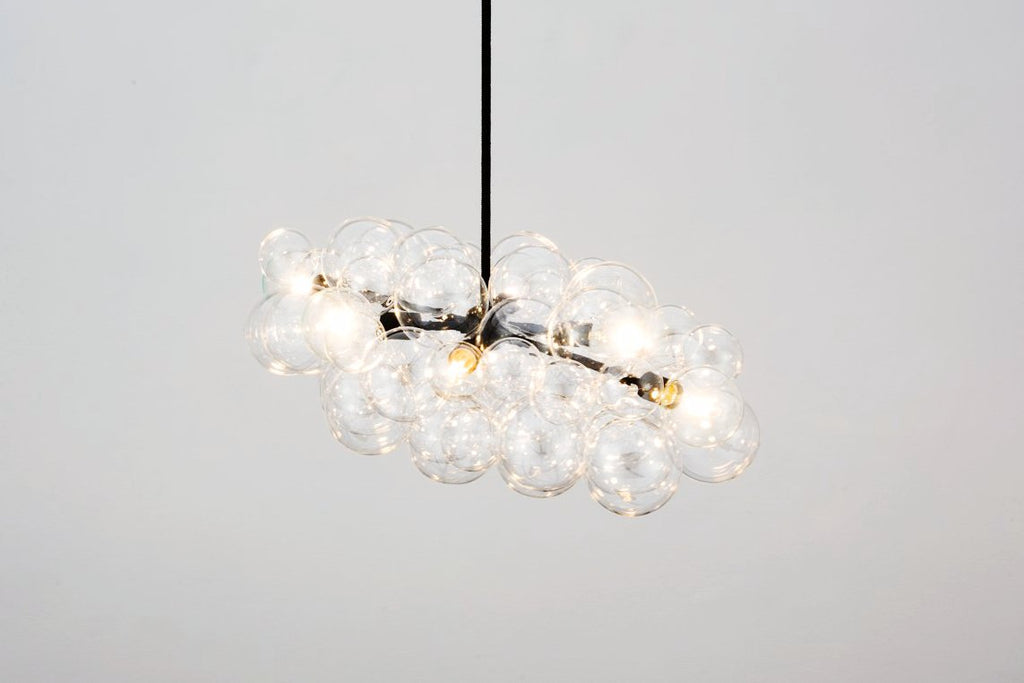 The Black Branch Bubble Chandelier