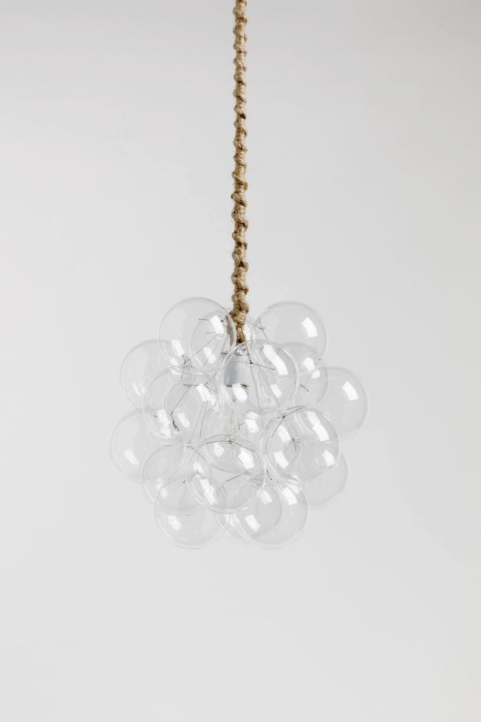 The 18 Glass Bubble Chandelier
