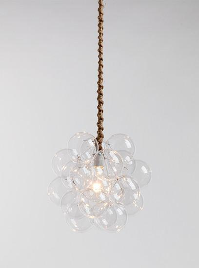 The 18 Glass Bubble Chandelier | The Light Factory