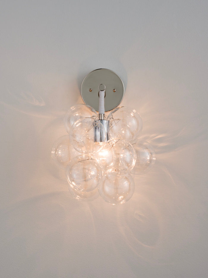 The Nickel Bubble Sconce | The Light Factory