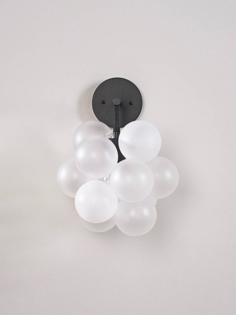 The Black Bubble Sconce | The Light Factory