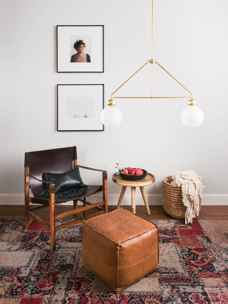 The Double Globe Chandelier | The Light Factory