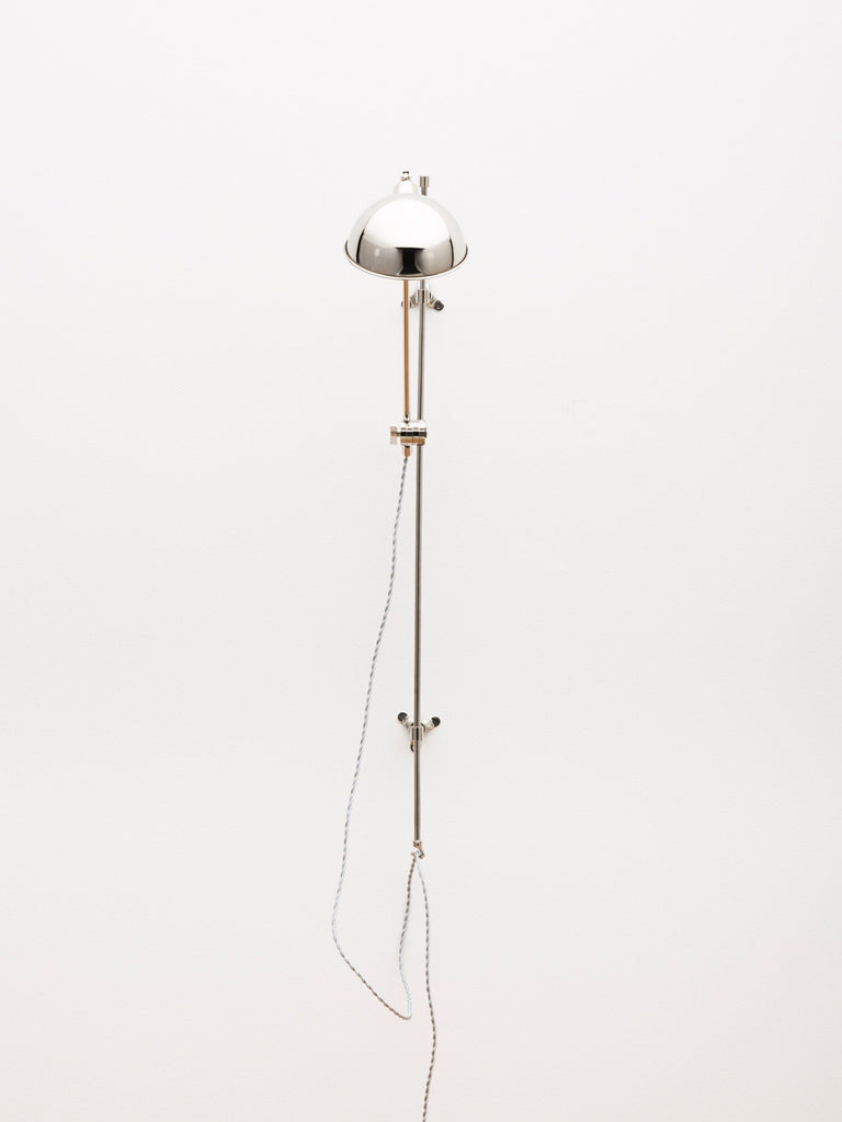 The Nickel Pole Sconce