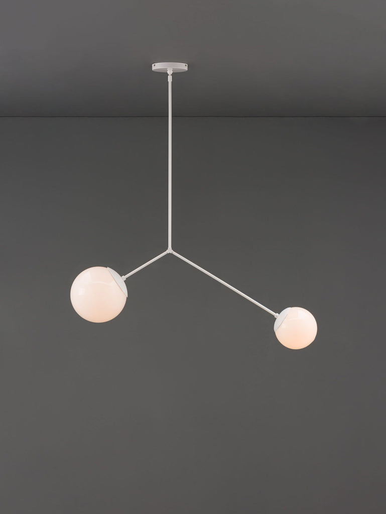 The White Balance Chandelier
