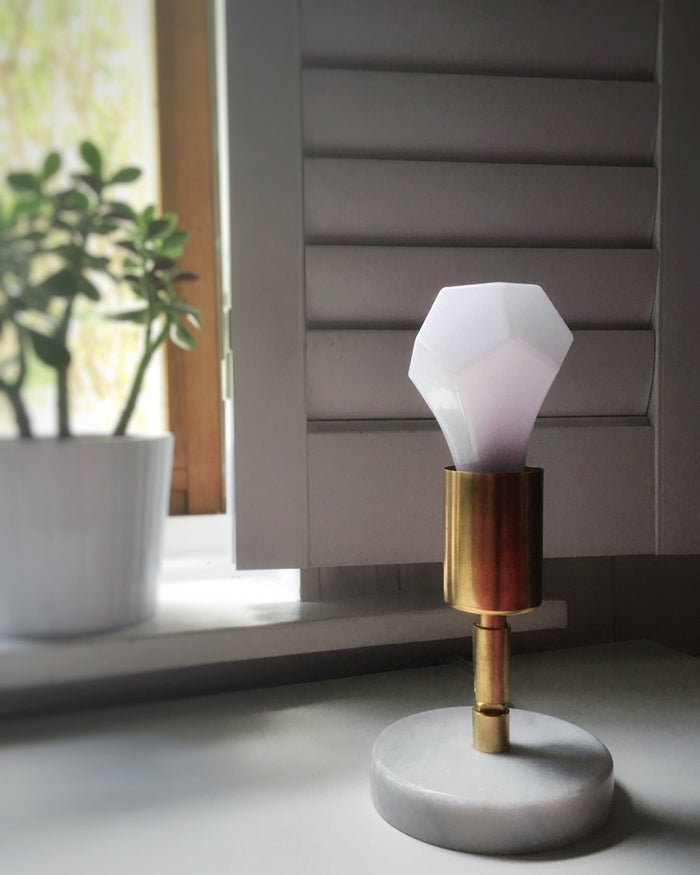 The Brass Solitaire Table Lamp