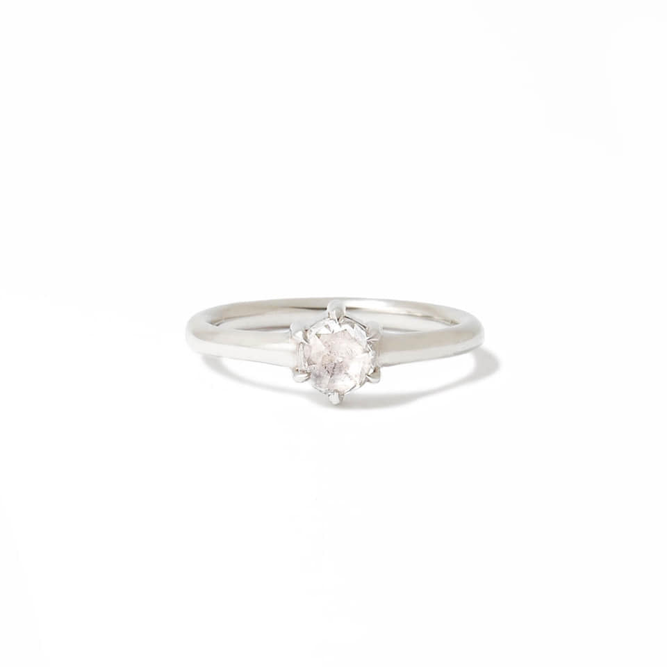 Six Prong Diamond Ring