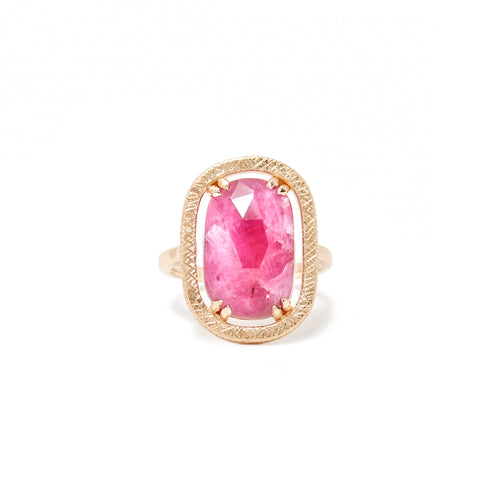 Rose Cut Sapphire Ring - Confection Collection