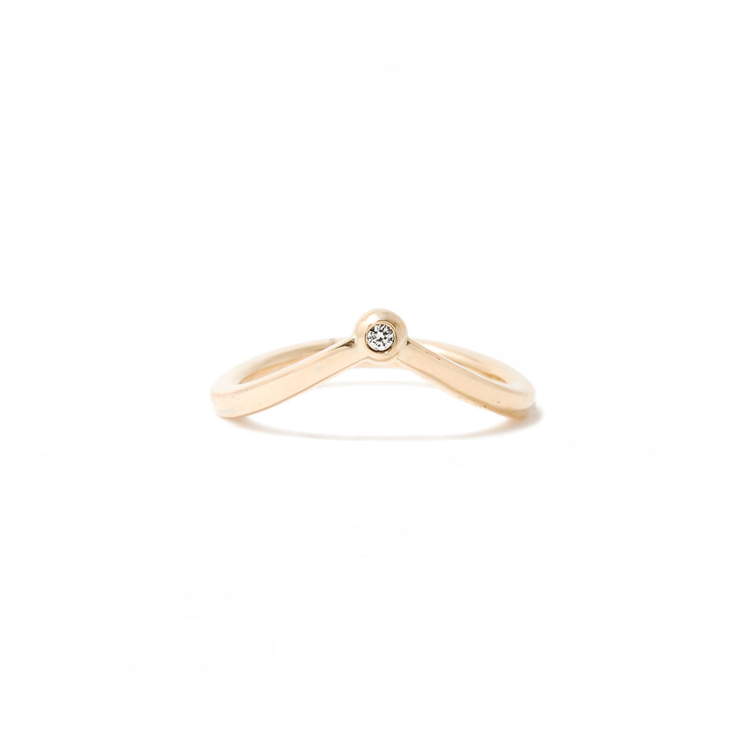 Effervescent Diamond Ring - Effervescent Collection