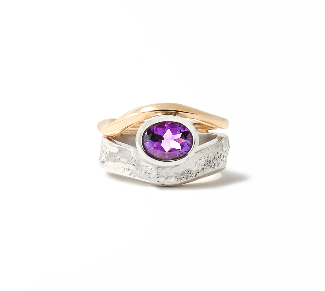 Amethyst Ring - Escarpment Collection