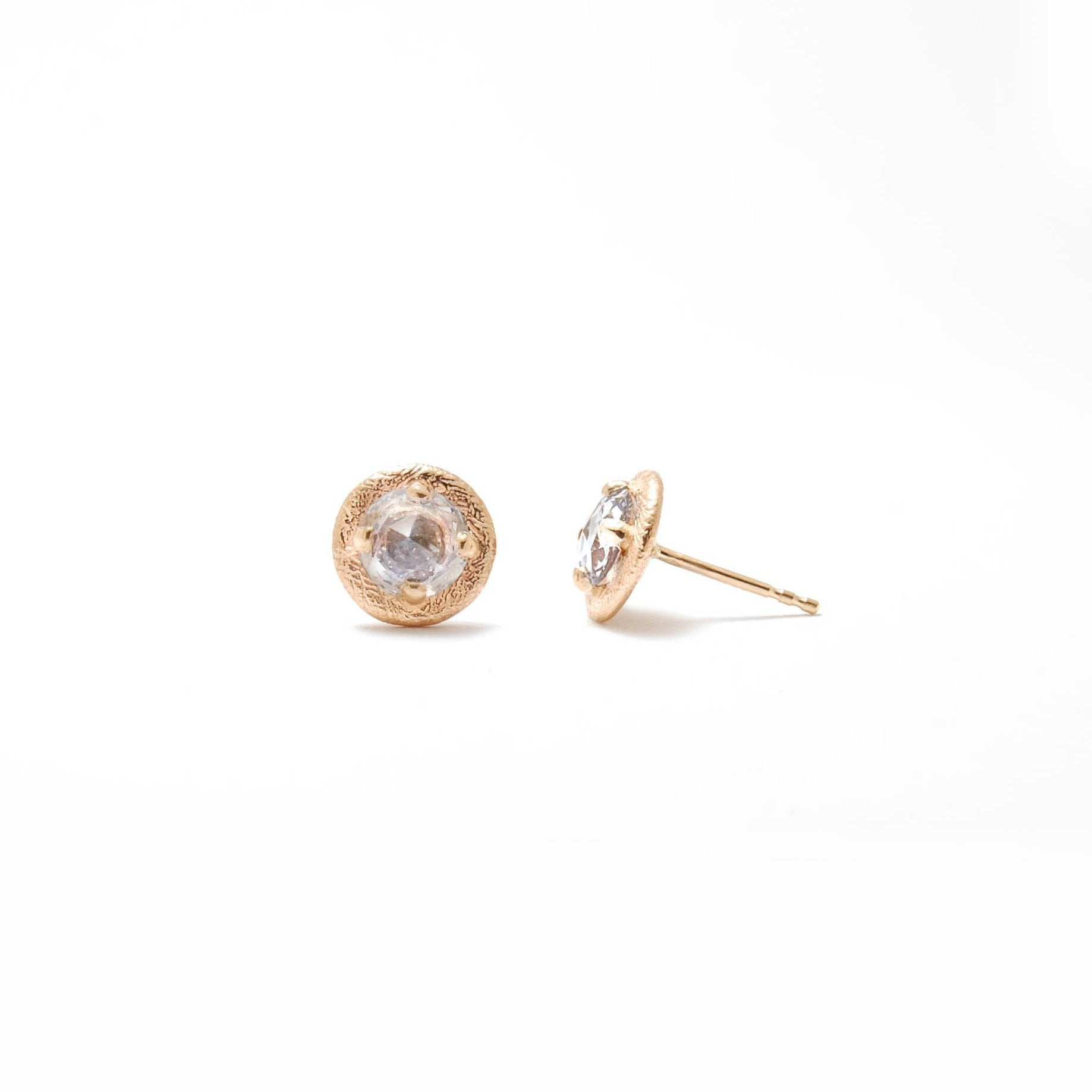 Feathered Halo Studs