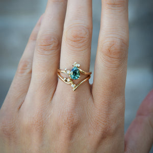 Effervescent Tourmaline Ring