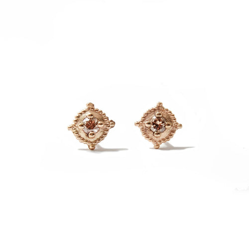 Diamond Stud Earrings - Marquise Star Collection